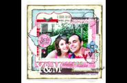 pages de scrapbooking