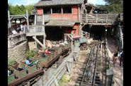 Disneyland  Paris train mine
