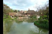 Disneyland  Paris village afrique