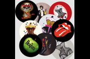 bijoux rock badges rock