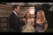 Madonna 2012 Golden Globe Awards 11 interview