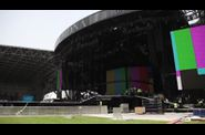 Madonna MDNA Tour Abu Dhabi stage 20 final setup