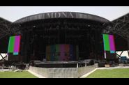 Madonna MDNA Tour Abu Dhabi stage 21 final setup