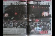 Madonna MDNA Tour 20120705 Gothenburg newspapers UCE 03