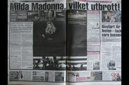 Madonna MDNA Tour 20120705 Gothenburg newspapers UCE 05