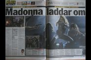 Madonna MDNA Tour 20120705 Gothenburg newspapers UCE 07