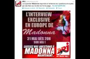 Madonna interview on NRJ 20120531 1