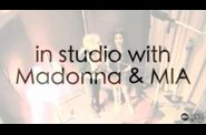 Madonna ABC interview in studio MIA Birthday Song 1