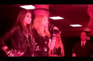 Madonna talks inside Material Girl Dance Party at Macy's 03