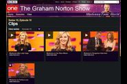 Madonna The Graham Norton Show interview 02