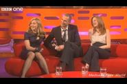 Madonna The Graham Norton Show interview 09 Hungarian Int