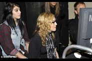 Kelly Osbourne Madonna and Lourdes on Material Girl shoot 5