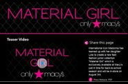 Madonna Material Girl Collection download videos and photos
