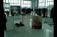 Madonna Material Girl setup at NYC editors event