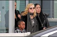 Madonna arrives in London 20110403 18