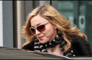 Madonna arrives in London 20110403 19