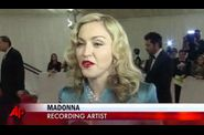 Madonna Met Gala 2011 NY 20110502 video AP 5