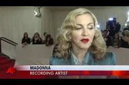 Madonna Met Gala 2011 NY 20110502 video AP 6