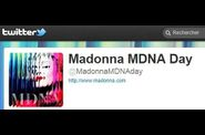 Madonna MDNA Day on Twitter - March 26, 2012