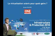 La virtualisation solaris pour quels gains ?