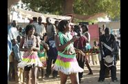 Danse traditionnelle du Sud du Tchad - Photo Razolo Djimbay