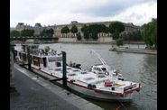 Commandant Bernier, pompiers sur la Seine  Paris