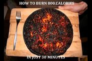 comment bruler 800 calories