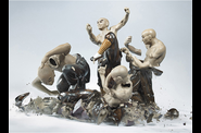 Crashing Porcelain Figurines by Martin Klimas5