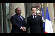 Ali Bongo le Mollah'Son  l'lyse avec Sarkozy 02 2011 dr www.legrigriinternational.com