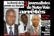 3 journalistes arrts le 24 nov 2011 par ADO