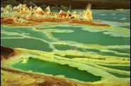 Dallol, la palette du Diable
