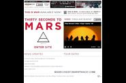 site 30 seconds to mars 2009