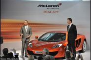 McLaren - Lewis Hamilton, MP4-12C, Jenson Button