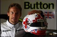 Brawn GP - Jenson Button - casque britannique
