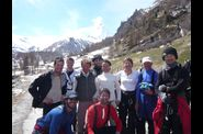 Jour 7: 17- photo de groupe  Zermatt devant le Cervin