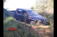 demonstration 4X4 VW amarok all road experience