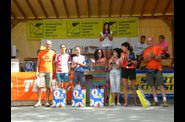 Ecovaldarda 2012 - podio femminile trail lungo 42 km