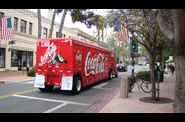 Santa Barbara coke coca truck