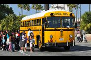 universal studios - school bus