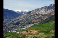 De Chefchaouen  Fes - Paysage de montagenes