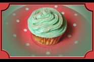 CupCake Menthe et Sucre Ptillan