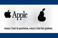 apple iphone 5 poires pomme
