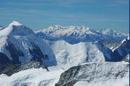 Aletschhorn, Mt-Rose et Mischabels