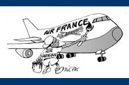 Air France degomme air afrique