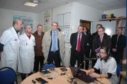 Securite-routiere---visite-de-l-hopital-Raymond-Poincare 00