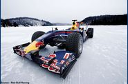 Red Bull - F1 sur glace