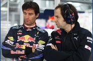 Red Bull - Mark Webber, Ciaron Pilbeam