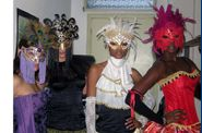 Carnevale: back stage Pineta