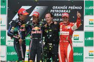 Ferrari - Mark Webber, Sebastian Vettel, Christian Horner, 