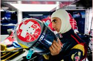 Toro Rosso - casque Sbastien Buemi